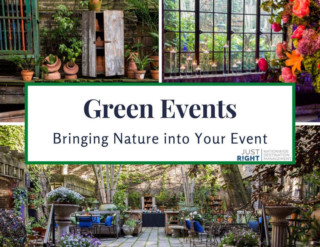 Green Events - Just Right Events